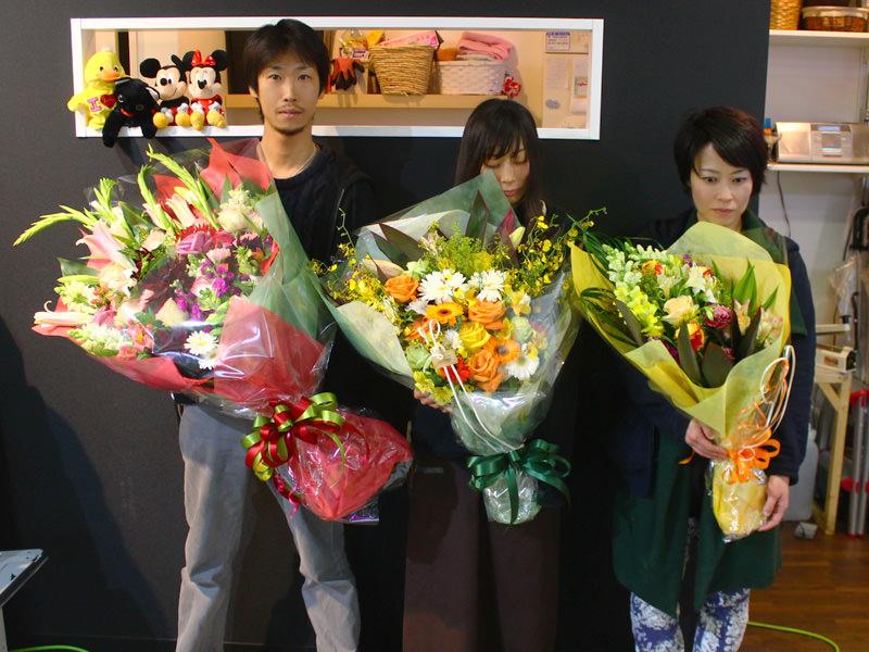 花束ワンサイド