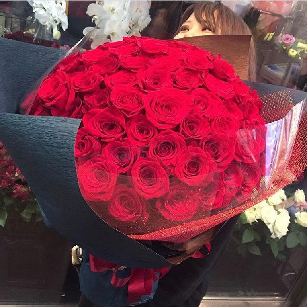 赤バラ花束ブーケ108本プロポーズ
