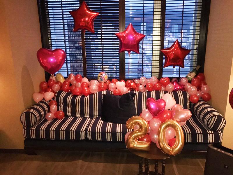 バルーン装飾風船誕生日サプライズプロポーズ数字文字バルーン
