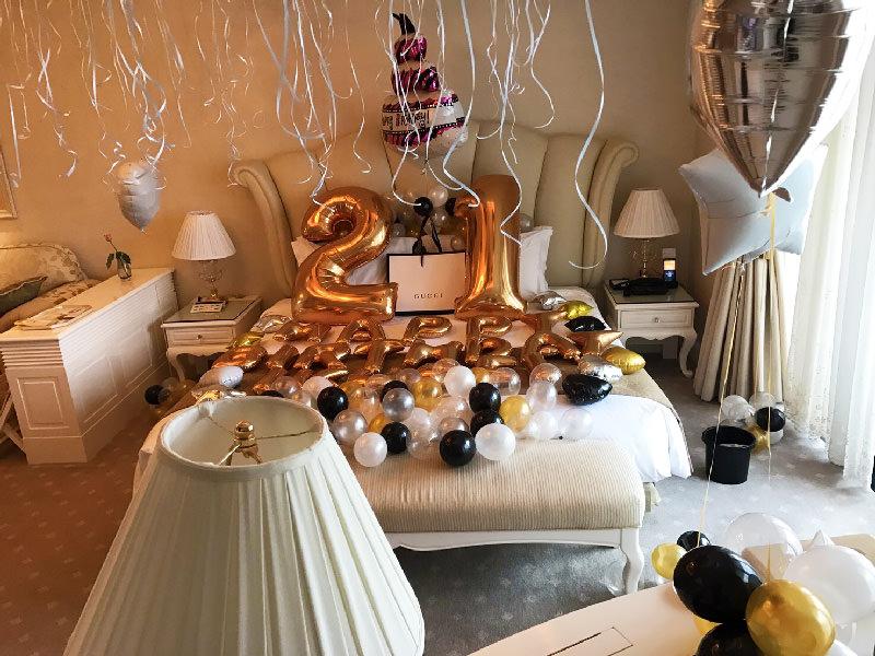 バルーン装飾風船誕生日サプライズプロポーズプレゼント