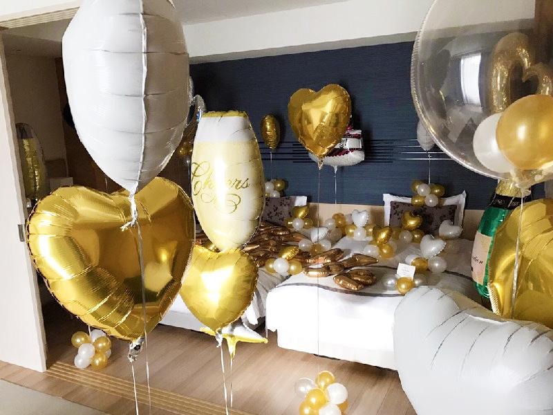 バルーン装飾風船誕生日サプライズ周年