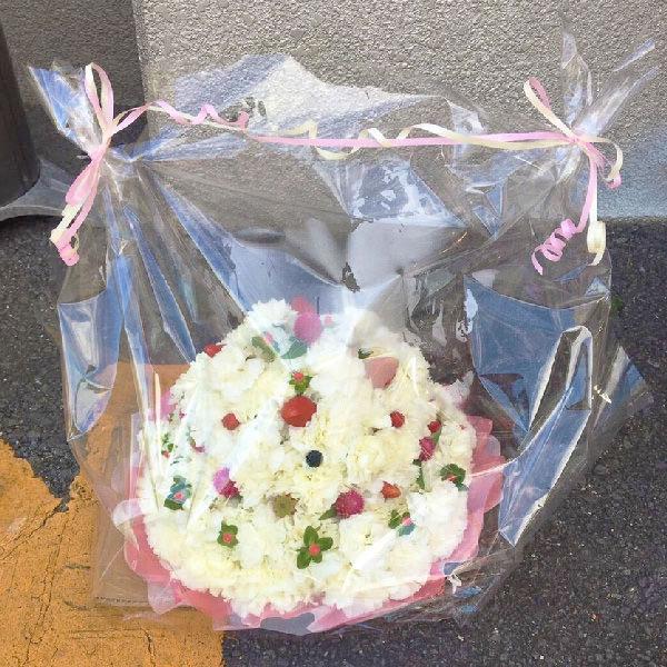 オーダーメイドフラワーケーキ誕生日結婚式ショートケーキプレゼント