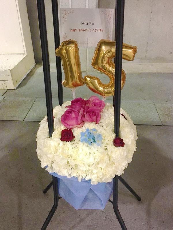 オーダーメイドフラワーケーキ誕生日結婚式ショートケーキフラスタ文字バルーン